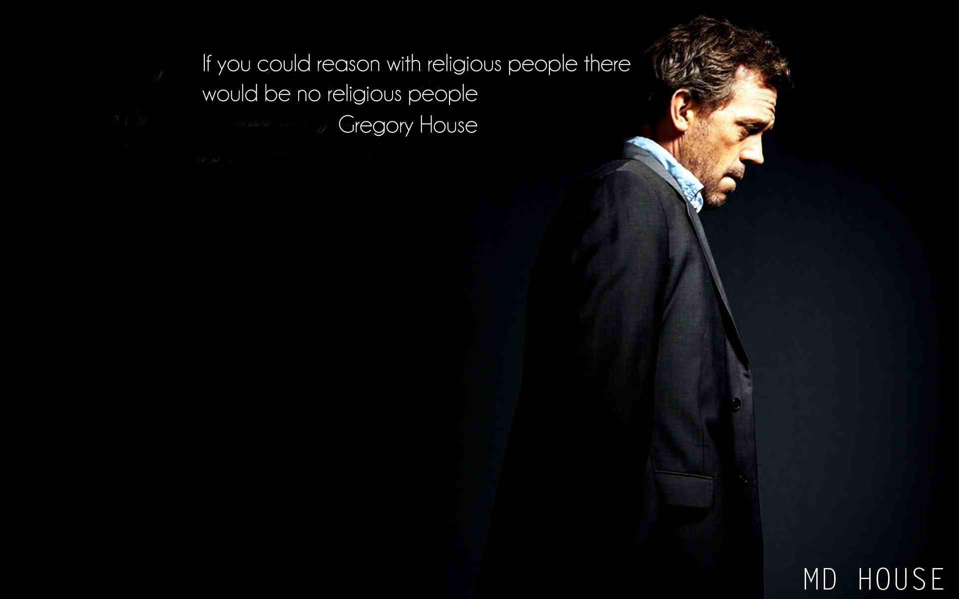 If you could reason with religious people , there would be no