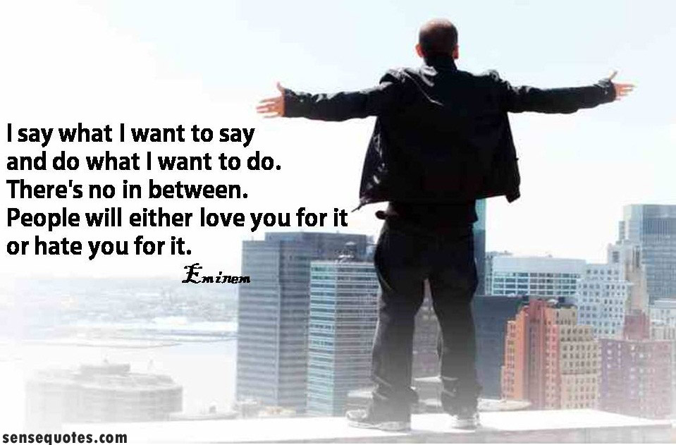 Eminem motivational quotes